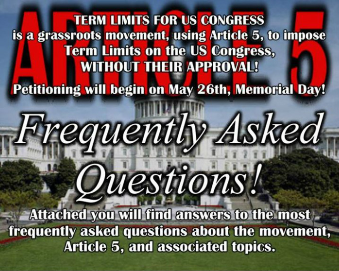 Congress term limits proposal